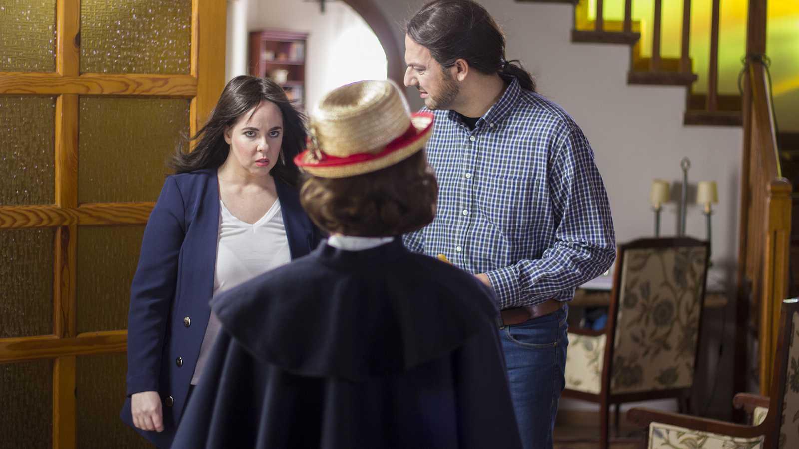 Hoy no, mañana - Mary Poppins, niñera oficial de Pablo e Irene
