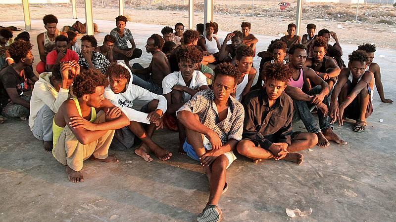 Más de cien muertos en un naufragio frente a las costas de Libia