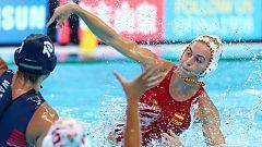 La selección española femenina de waterpolo logra la plata mundial tras caer ante Estados Unidos