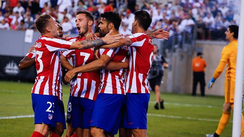 El Atlético arrolla al Madrid en el amistoso de Nueva York (7-3)