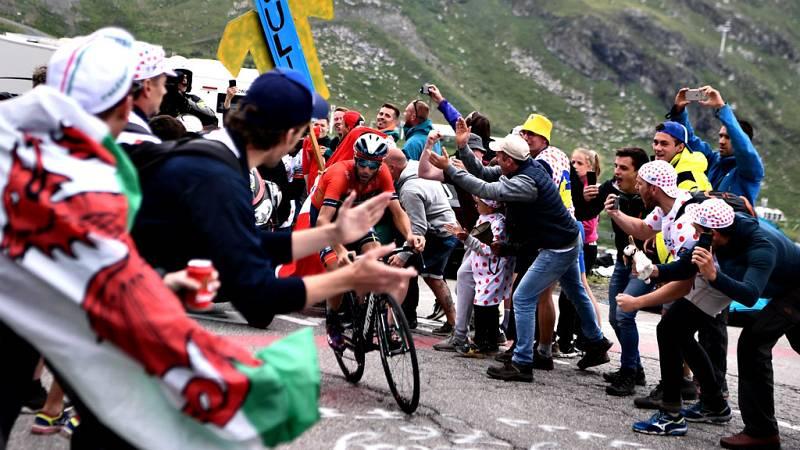 meta de la etapa 20 del Tour de Francia 2019.