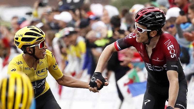 Egan Bernal se asegura la victoria del Tour en Val Thorens y Alaphilippe se despeña del podio