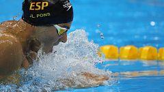 Pons, cuarto en los 400 estilos del Mundial de Gwangju