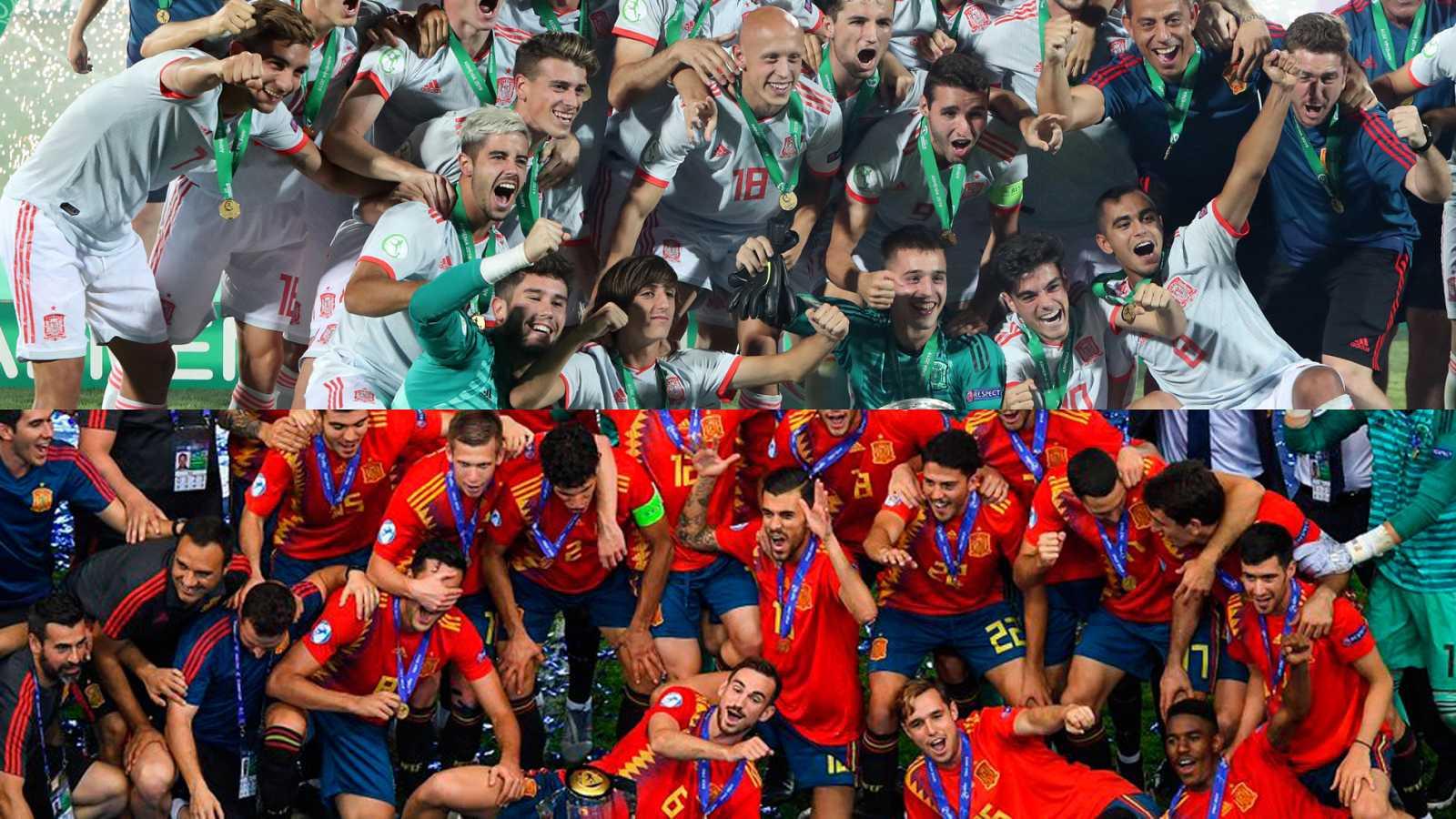 Un doblete de Ferrán Torres da a España el Europeo sub'19