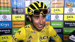 """Tour 2019: Bernal: """"Todavía no he asimilado que he ganado el Tour"""""""