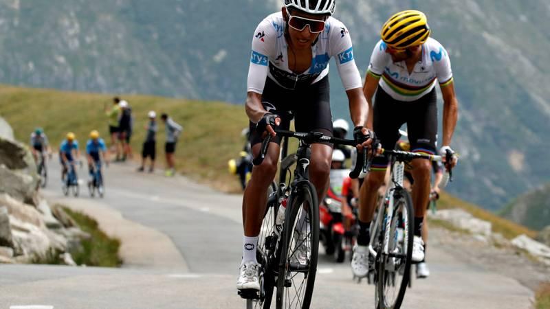 La euforia de toda Colombia por el primer maillot amarillo en el Tour firmado por su nuevo héroe, Egan Bernal, se trasladó a los Campos Elíseos de París, al atardecer, para saludar la entrada de un joven de 22 años llamado a marcar una era en el cicl