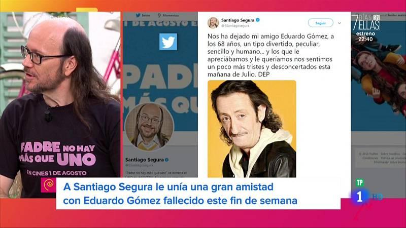 Santiago Segura recuerda al actor Eduardo Gómez