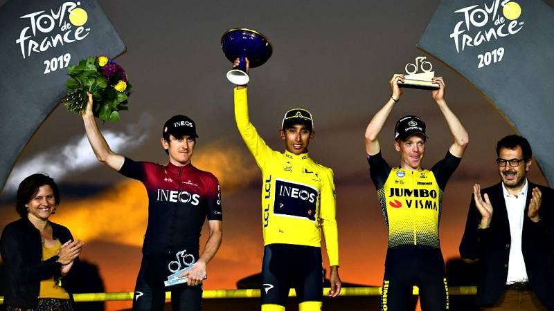 El ciclista colombiano, flamante vencedor del Tour de Francia, reconoce el respeto por Geraint Thomas duarante la carrera.