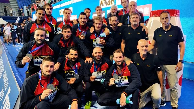 El seleccionador español de waterpolo, David Martín, lamentó no  haber podido culminar su gran actuación en el Mundial con un oro  frente a Italia (5-10), pero puso en valor el trabajo de sus  jugadores durante un torneo que les ha valido para conseg