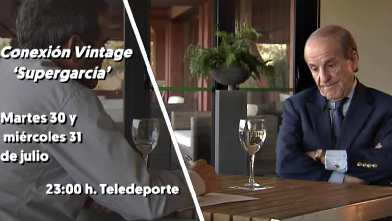 El popular comunicador protagoniza con dos episodios el programa Conexión Vintage de Teledeporte. Martes 30 y miércoles 31 a partir de las 23:00h.
