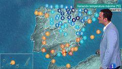 Descenso de temperaturas en la mitad norte, Cantábrico y alto Ebro