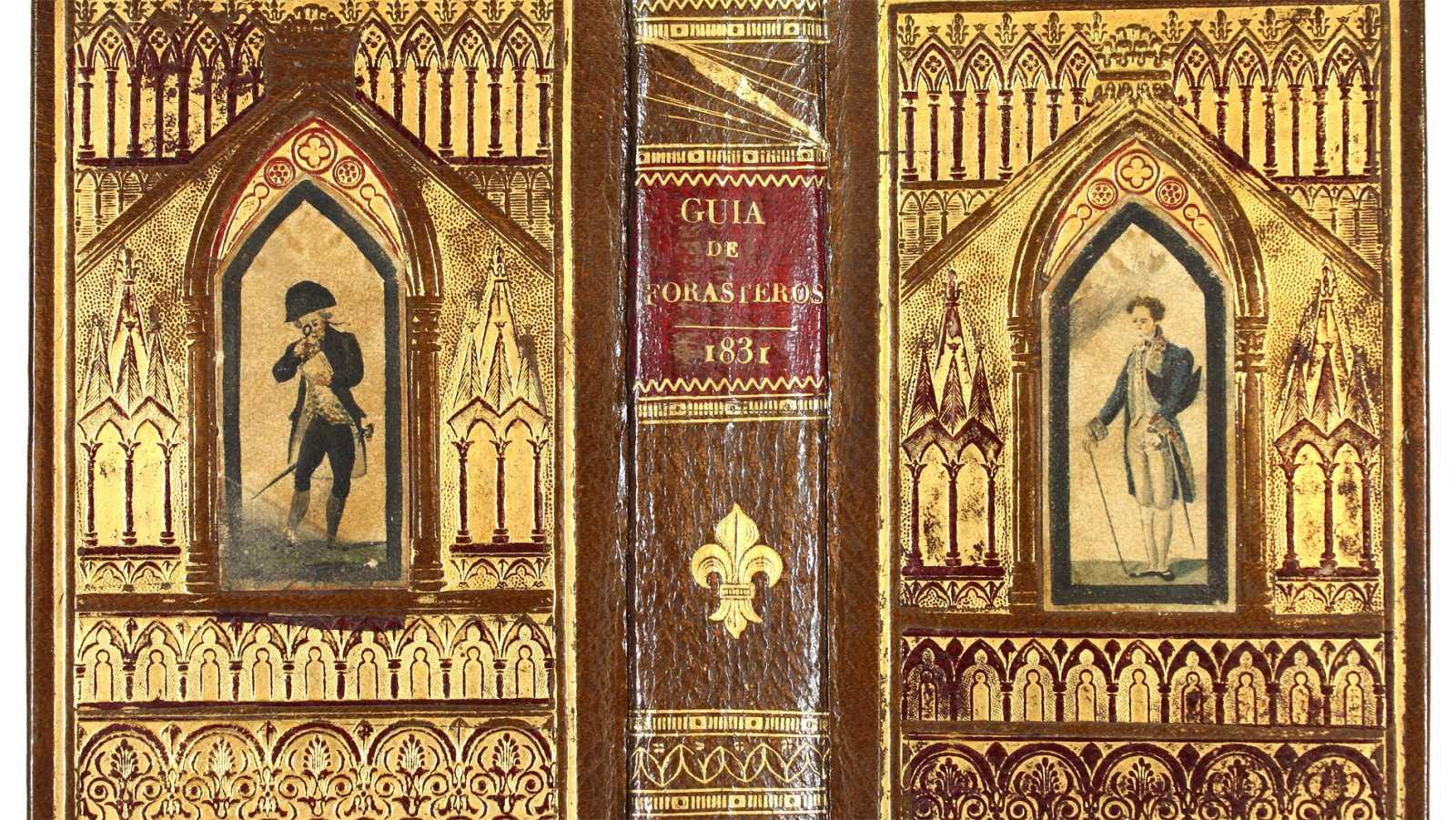 """""""El libro y sus trajes"""", una muestra sobre el arte de la encuadernación"""