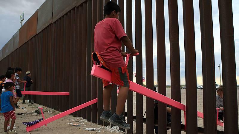 Columpios para acercar México y Estados Unidos
