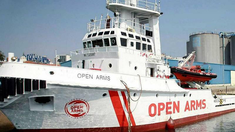 El Open Arms se enfrenta a las dificultades de rescatar migrantes en el Mediterráneo Central