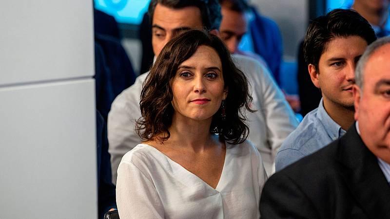 Ciduadanos acepta el documento de Vox que facilitará la investidura de Ayuso en Madrid