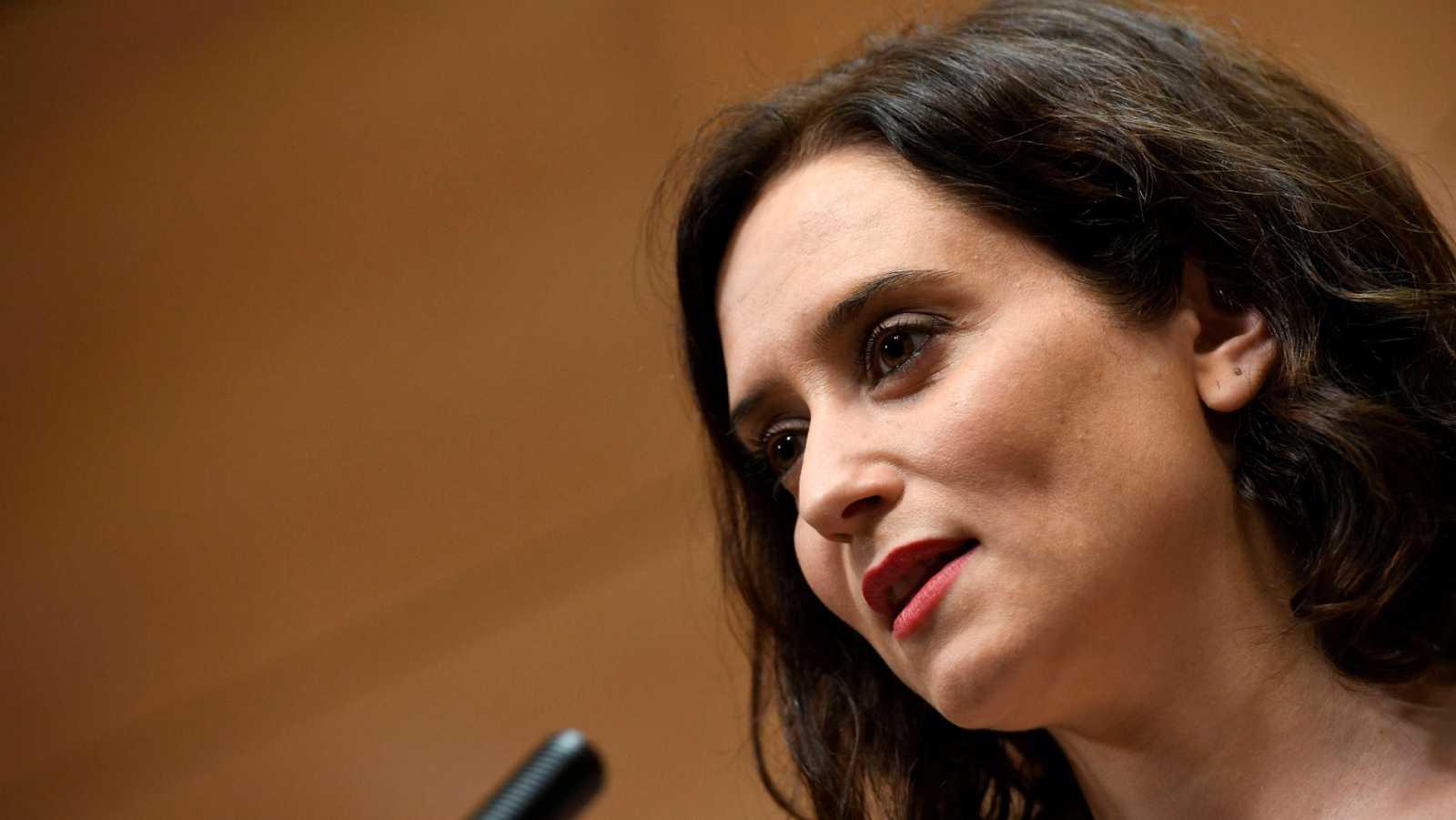 Ayuso será presidenta de la Comunidad de Madrid tras aceptar Ciudadanos la última propuesta de Vox