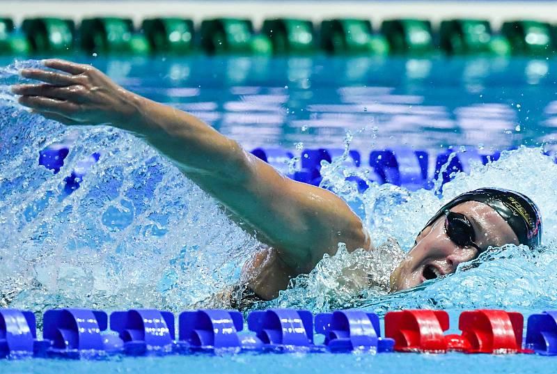Mireia Belmonte, plata en 400 libre en la Copa del Mundo de Tokio