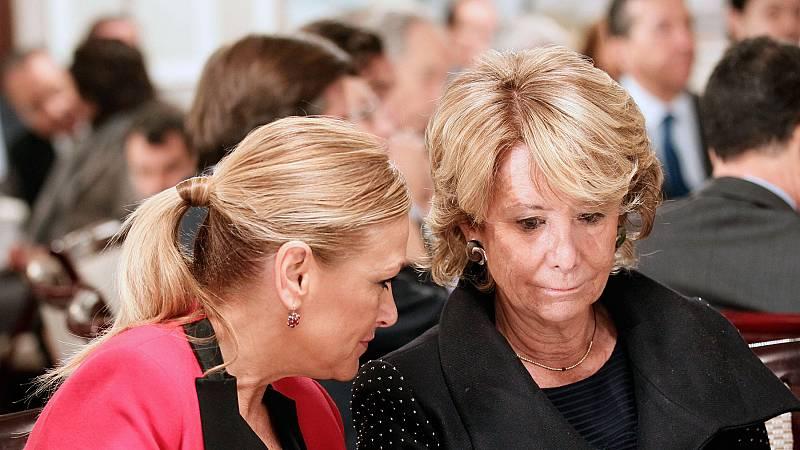 La Fiscalía pide imputar a Aguirre y Cifuentes en 'Púnica' por la presunta financiación ilegal del PP de Madrid