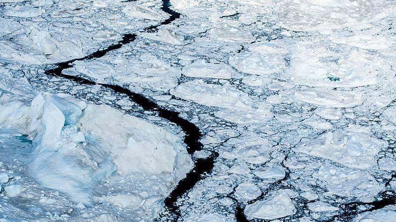 Los glaciares de Groenlandia se derriten a un ritmo inusualmente rápido