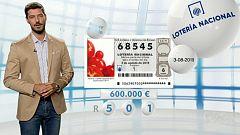 Lotería Nacional - 03/08/19