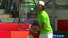 """Tenis - Open Castilla y León """"Villa de El Espinar"""". 1ª semifinal"""