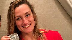 Joanllu Pons y Mireia Belmonte recogen medallas en la Copa del Mundo de Tokio