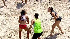 Balonmano playa - Campeonato de España. Final femenina