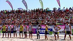 Balonmano playa - Campeonato de España. Final masculina