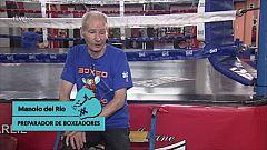 """MANOLO DEL RÍO, PREPARADOR DE BOXEADORES : """"EL BOXEO ES EL ARTE DE PEGAR Y QUE NO TE PEGUEN"""""""