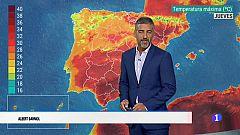 El tiempo en Andalucía - 8/8/2019