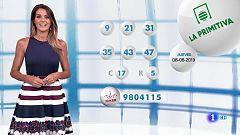 Lotería Nacional + La Primitiva + Bonoloto - 08/08/19