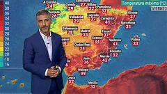 Temperaturas muy altas en el tercio este peninsular y en Baleares
