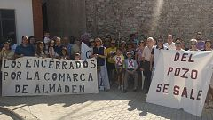 La mañana - Los vecinos de Almadén salen de la mina once días después