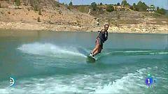 España Directo - Practicando Wakeboard