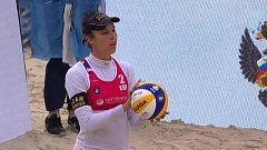 Voley Playa - Campeonato de Europa 1/4 Final Femeninos: Italia - España