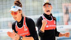 Las españolas Liliana Fernández y Elsa Baquerizo, a semifinales del Europeo de voley playa