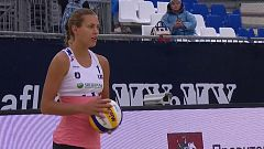 Voley Playa - Campeonato de Europa 1/4 Final Femeninos: Alemania - Letonia