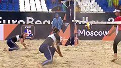Voley Playa - Campeonato de Europa 2ª Semifinal Femenina: Polonia - Suiza