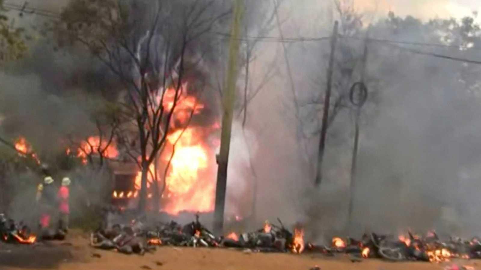 Al menos 60 muertos al explotar un camión cisterna en Tanzania