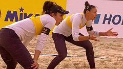 Voley Playa - Campeonato de Europa 3º-4º puesto Femenino: España - Suiza