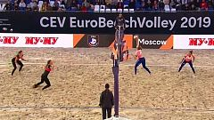 Voley Playa - Campeonato de Europa Final Femenina: Letonia - Polonia