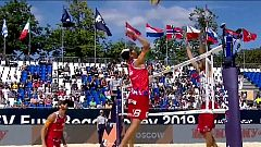 Voley Playa - Campeonato de Europa 1ª Semifinal Masculina: Noruega - Polonia