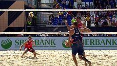 Voley Playa - Campeonato de Europa 2ª Semifinal Masculina: Rusia - Austria