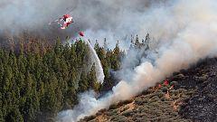 El incendio de Gran Canaria obliga a evacuar a otras 125 personas durante la noche