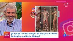 A partir de hoy - Lorenzo Caprile opina sobre los 'looks' de Cristina Pedroche y David Muñoz