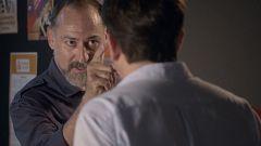 Servir y Proteger - Damián golpea a Iriarte en la cabeza y acaba con su vida
