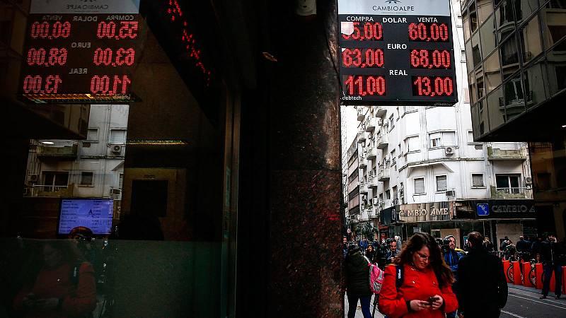 Los mercados argentinos se derrumban tras la victoria del peronismo en las primarias