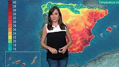 Temperaturas en descenso en el área mediterránea y aumento en el resto