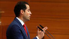 """Aguado promete un gobierno que sirva de """"contrapeso"""" a Sánchez"""