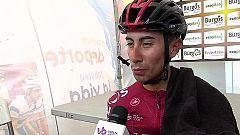 Sosa da el golpe en el Picón Blanco y se aúpa al liderato de la Vuelta a Burgos